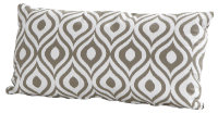 Scatter cushion Pinamar taupe