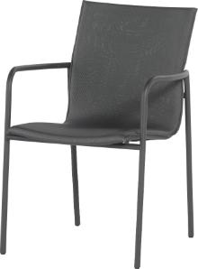 Atrium stapelstoel antraciet