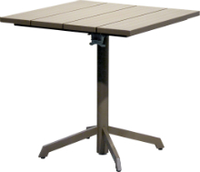 Etna folldable table taupe