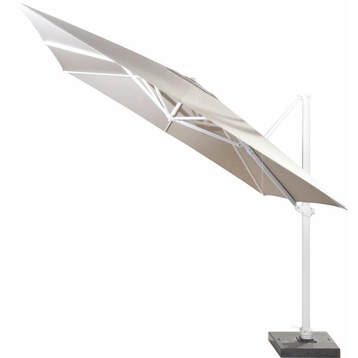 Ampelschirm Siesta Taupe 300 x 300 cm