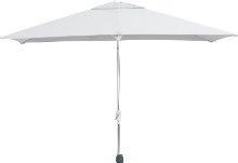 Parasol Madera grijs 200 x 300 cm