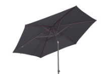 Parasol Push Up anthracite 300