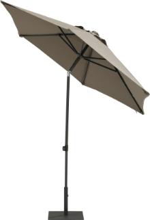 Parasol Push Up taupe 250 cm
