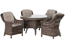 Madoera 4 set dining set