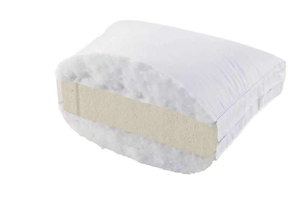 Talalay Latex Kussen : Talalay latex goose feather pillow soft springbed mattress