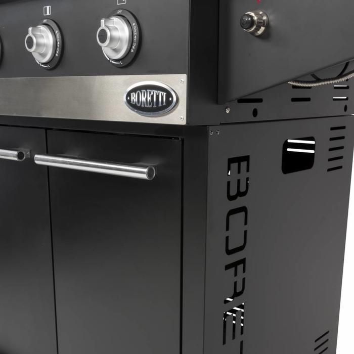 Boretti Hybrid Grill Ibrido