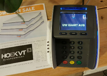 Payment at HoekVT