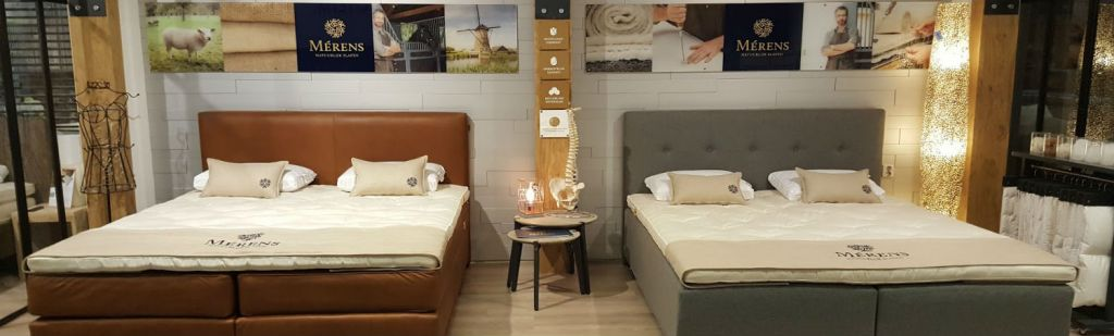 New brand; Mérens springbox beds