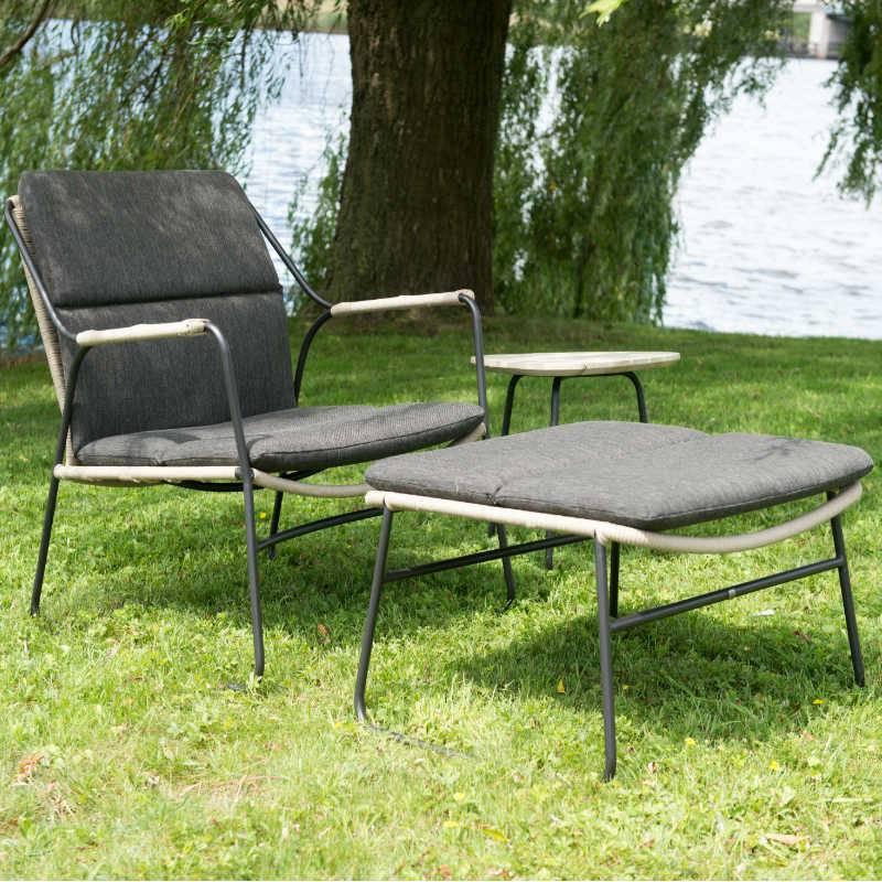 4 seasons outdoor scandic living boxspringbett. Black Bedroom Furniture Sets. Home Design Ideas