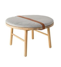 Bloomingville Oak stool with cushion
