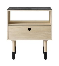 Bloomingville Nightstand Natural-black
