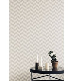 ferm LIVING Angle gray wallpaper