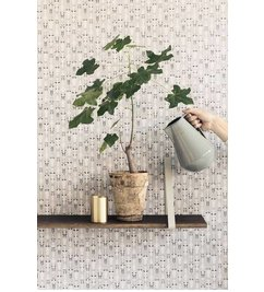 ferm LIVING Behang Vivid grey