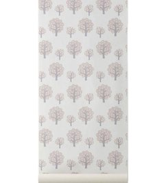 ferm LIVING Behang Dotty rose