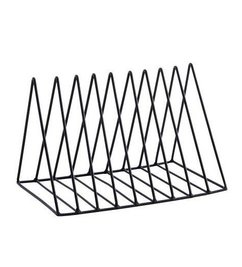 Madam Stoltz Magazine rack 'black'