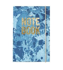 House Doctor Notebook 'Seasons' blue