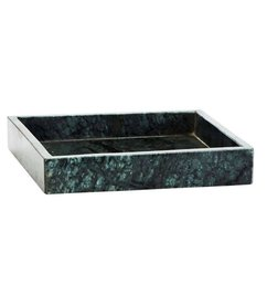 Madam Stoltz Marble scale green square