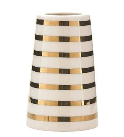 House Doctor Sailor stripes vase gold