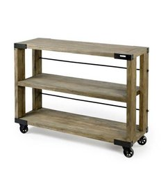 Nordal Side table on wheels