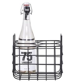 House Doctor Bottle holder black