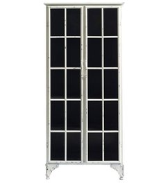 Nordal Metal cabinet 'Downtown' white