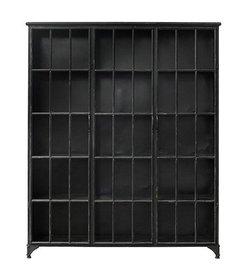 Nordal metal cabinet 'downtown' black