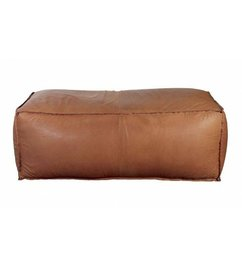 House Doctor Pouf soft brick '