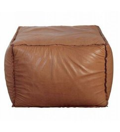 House Doctor Pouf Softbrick medium