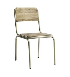 Nordal chair 'SOHO' champagne