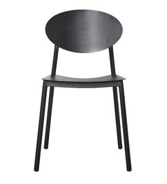 House Doctor Walker black aluminum chair