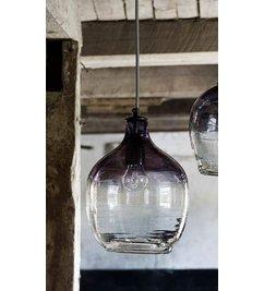 Nordal Hanging lamp 'BUBBLE' smoke H: 26 cm