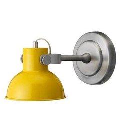 Bloomingville Wandlamp geel