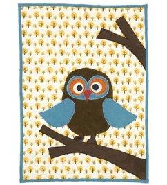 ferm LIVING Quilt owl