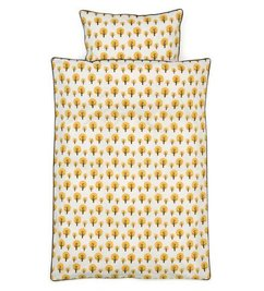 ferm LIVING Duvet  Dotty yellow