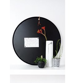 E|L by DEENS.NL Black magnetic board 60cm around