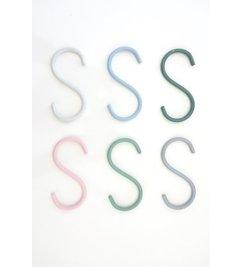 E|L by DEENS.NL S haken HEINTJE pastel ( set van 6) SS16