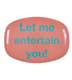 Melamine bord 'Entertain'