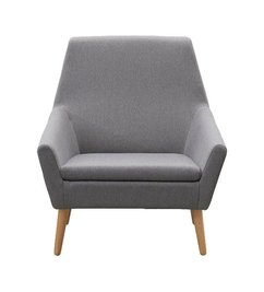 House Doctor LACE gray armchair