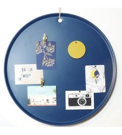 E|L by DEENS.NL Magneetbord MARIE jeansblauw