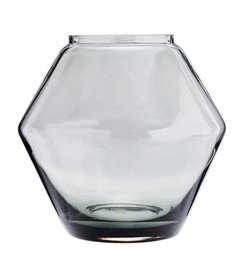 Madam Stoltz Stackable glass vase D:22x20,5 cm