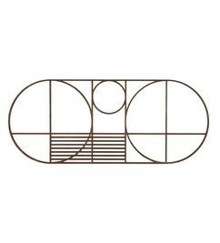 ferm LIVING Trivet Outline oval - oak