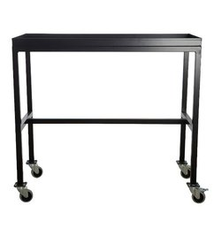 House Doctor Rolling table - Black