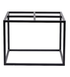 House Doctor Table base - Matt black 60x60 cm