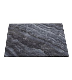 House Doctor Table top - Grey marble 60x60 cm