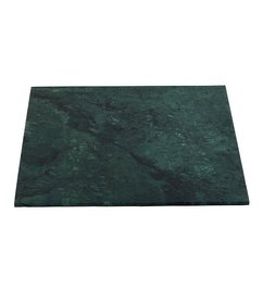 House Doctor Table top - Green marble 60x60 cm