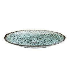 Madam Stoltz Aardewerk bord baluw-groen 27,5 cm