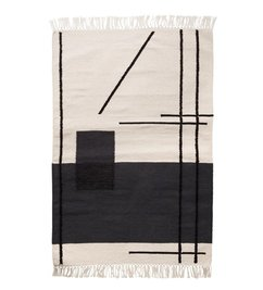 ferm LIVING Trace mat - Grey