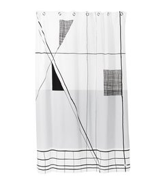 ferm LIVING Shower curtain Trace
