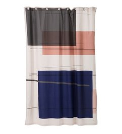 ferm LIVING Shower curtain Colour block