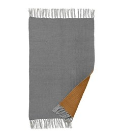 ferm LIVING Rug Nomad - Curry/Grey